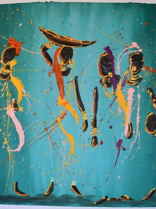 Four Women In A Blue Universe