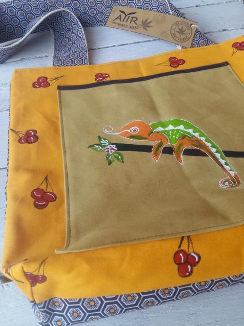 Shopper Bag Chameleon
