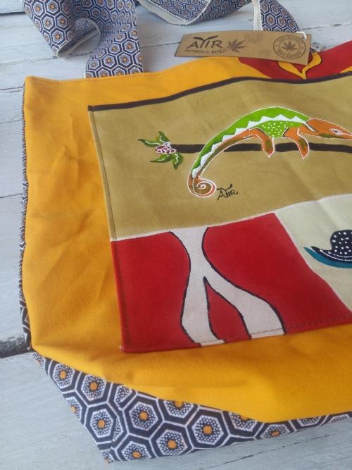 Shopper Bag Chameleon 2