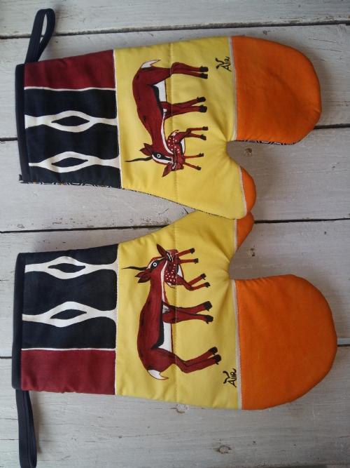 Oven Gloves Springbok
