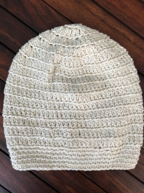 Slouch Beanie - Natural