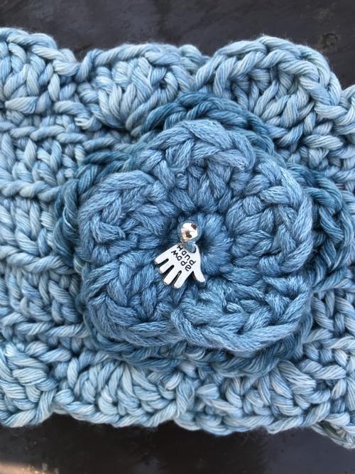 Winter Headband - Pearl-Blue