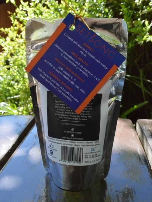 Tepane Black Bush Tea - Orange Spiced Fusion
