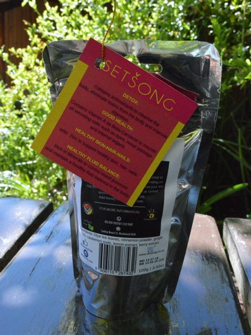 Diya Red Root Tea - Lemon, Ginger, Berry
