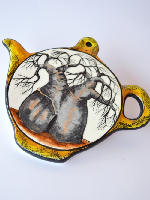 Mug & Teabag Holder Set