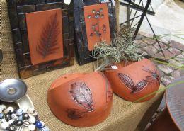Terracotta Planters, Bird Feeders, Stoneware, Candle Rings, Ceramic Mosaic, Beads