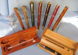 Pens: (Roller Ball, Ball Point, Fountain, Pencils