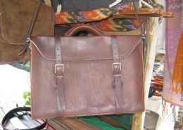 Handmade Leather Luggage & Accessories