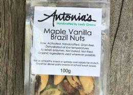 Maple vanilla brazil nuts