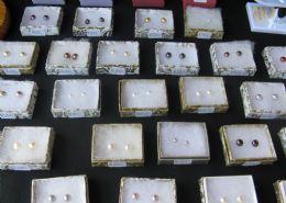 Fresh water pearl studs and drop earrings/rings