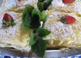 Sweets With Phyllo - Baklava, Greek Custard Pastry