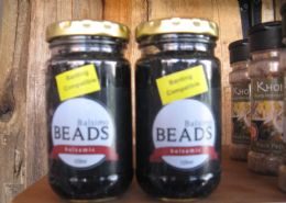 Balsamic beads