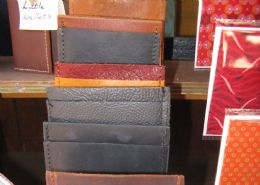 Leather cardholders