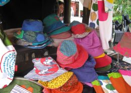 Childrens reversable sun hats