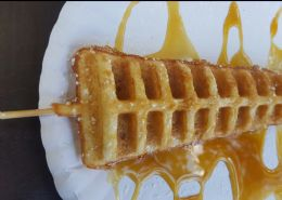 Waffle on the stick