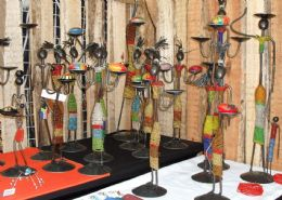 African Furniture, Candle Holders