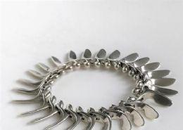 Georg Jensen Silver Bracelet #115 By Bent Gabrielsen